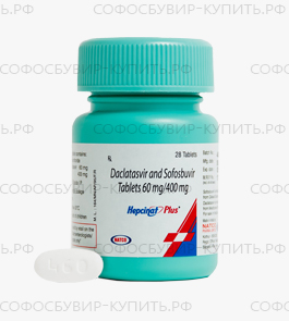 Hepcinat Plus от Natco Pharma фото